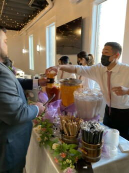 Catering Service at Brew Tea Bar
